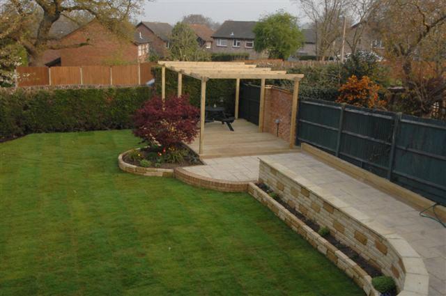 Complete garden makeover in billingshurst garden landscaping for Garden makeover